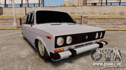 VAZ-2106 Zhiguli BUNKER für GTA 4