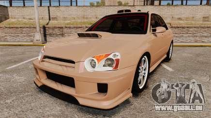 Subaru Impreza WRX STI 2004 für GTA 4