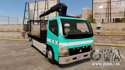 Mitsubishi Fuso Canter Japanese Auto Rescue pour GTA 4
