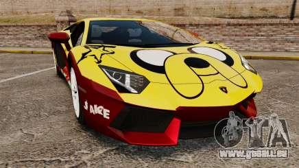 Lamborghini Aventador LP700-4 2012 [EPM] Jake für GTA 4
