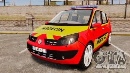 Renault Scenic Medicin v2.0 [ELS] für GTA 4