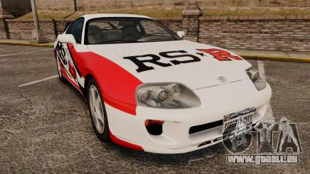Toyota Supra MKIV 1995 RS-R pour GTA 4