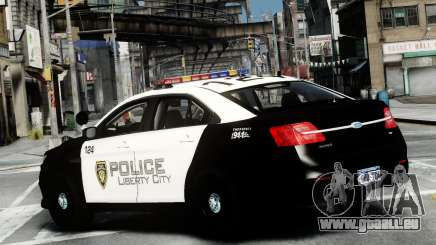 Ford Police Interceptor LCPD 2013 [ELS] pour GTA 4