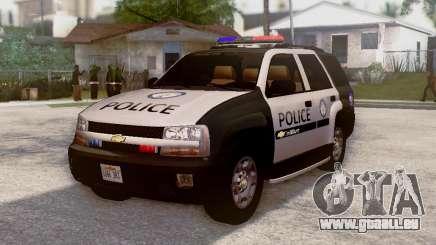 Chevrolet TrailBlazer Police pour GTA San Andreas