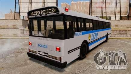 Brute Bus LCPD [ELS] pour GTA 4