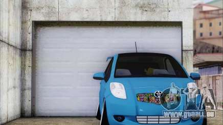 Toyota Yaris Hellaflush Young Child pour GTA San Andreas