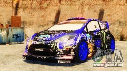 Ford Fiesta 2013 pour GTA 4