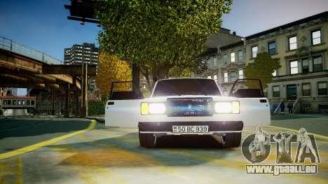 VAZ 2107 für GTA 4 Seitenansicht