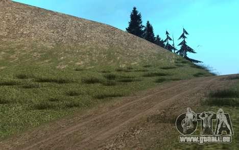 RoSA Project v1.3 Countryside pour GTA San Andreas cinquième écran