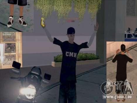Haut-media-Arbeiter für GTA San Andreas her Screenshot