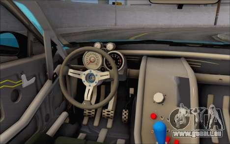 Scion FR-S 2013 Beam pour GTA San Andreas vue de dessous
