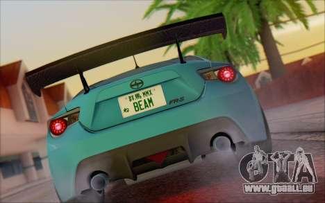 Scion FR-S 2013 Beam pour GTA San Andreas vue de droite