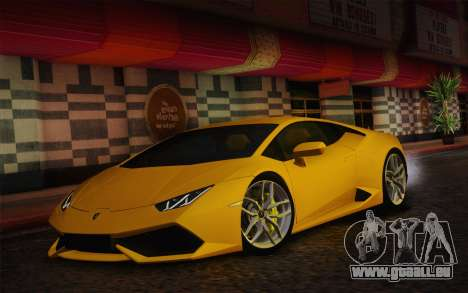 Lamborghini Huracan 2013 pour GTA San Andreas laissé vue