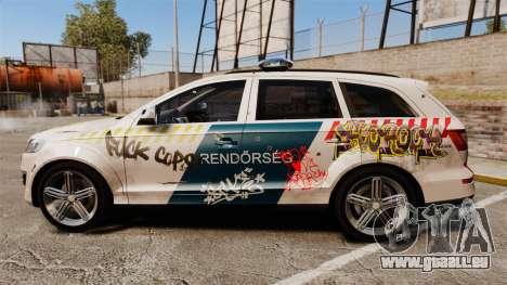Audi Q7 FCK PLC [ELS] pour GTA 4 est une gauche