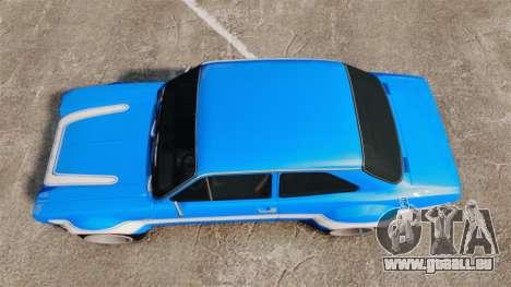 Ford Escort MK1 FnF Edition für GTA 4 rechte Ansicht