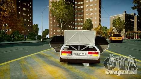 VAZ 2107 für GTA 4 Unteransicht