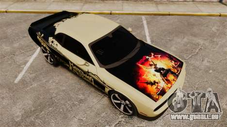 Dodge Challenger SRT8 2012 pour le moteur de GTA 4