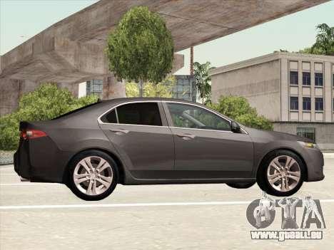 Honda Accord 2009 pour GTA San Andreas vue intérieure