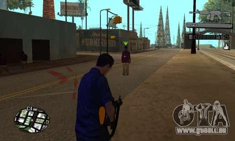 C-HUD Smoke pour GTA San Andreas deuxième écran