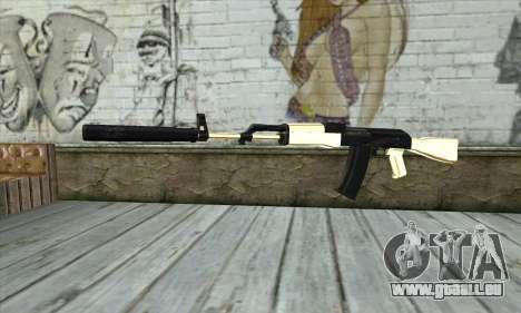 Golden AK47 pour GTA San Andreas