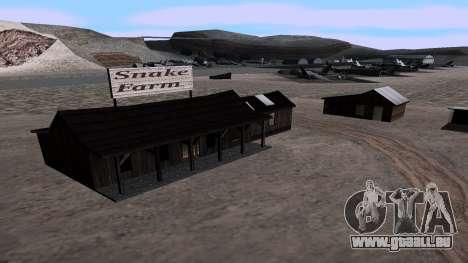 Mis à jour serpent ferme pour GTA San Andreas deuxième écran