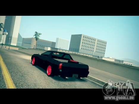 Elegy P1kachuxa Private für GTA San Andreas zurück linke Ansicht