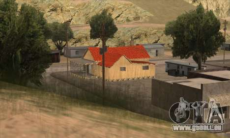 Nouvelle maison de Sijia dans El Quebrados v1.0 pour GTA San Andreas deuxième écran