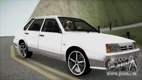 CES M pour GTA San Andreas vue intérieure