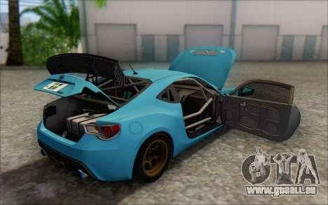Scion FR-S 2013 Beam für GTA San Andreas Motor