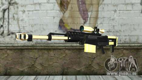 Golden Sniper Rifle pour GTA San Andreas