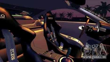 Nissan 350Z Minty Fresh pour GTA San Andreas roue