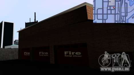 Updated San Fierro Fire Dept für GTA San Andreas her Screenshot