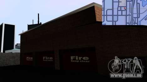 Updated San Fierro Fire Dept für GTA San Andreas her Screenshot