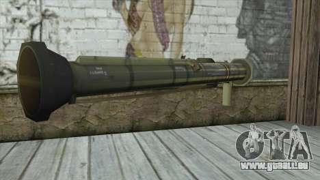 AT4 Rocket Launcher pour GTA San Andreas deuxième écran