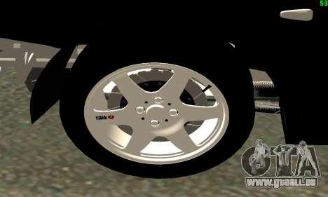 VAZ-21123 TURBO-Aufladung für GTA San Andreas Rückansicht