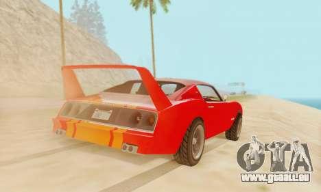 Imponte Phoenix из GTA 5 pour GTA San Andreas laissé vue
