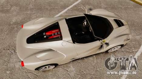 Ferrari LaFerrari Spider v2.0 für GTA 4 rechte Ansicht