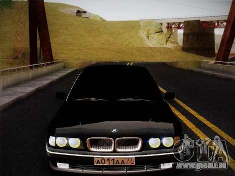 BMW 730d E38 1999 für GTA San Andreas rechten Ansicht