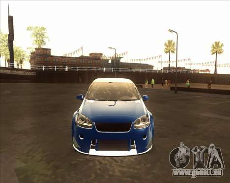 Volkswagen Golf из NFS Most Wanted für GTA San Andreas linke Ansicht
