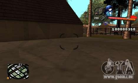 Anime C-Hud pour GTA San Andreas deuxième écran