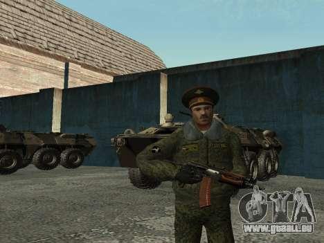 Le Lieutenant-Colonel de l'armée intérieure pour GTA San Andreas