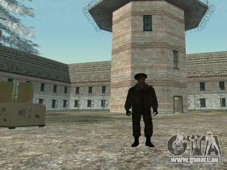 Le Lieutenant-Colonel de l'armée intérieure pour GTA San Andreas deuxième écran