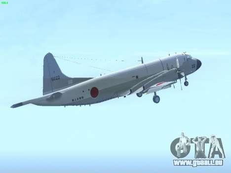 Lockheed P-3 Orion FAJ pour GTA San Andreas vue de droite