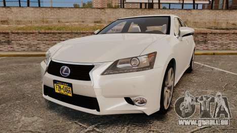 Lexus GS 300h für GTA 4
