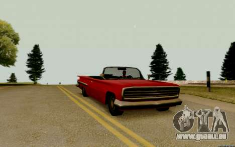 Voodoo Convertible (version sans feux) pour GTA San Andreas