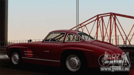 Mercedes-Benz 300SL 1955 pour GTA San Andreas laissé vue
