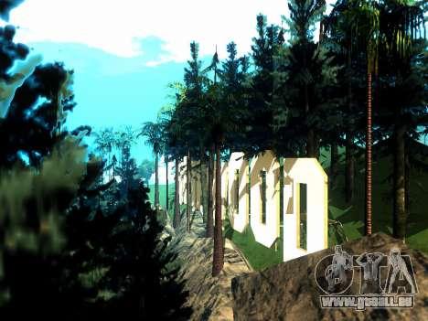 New Vinewood Realistic pour GTA San Andreas troisième écran