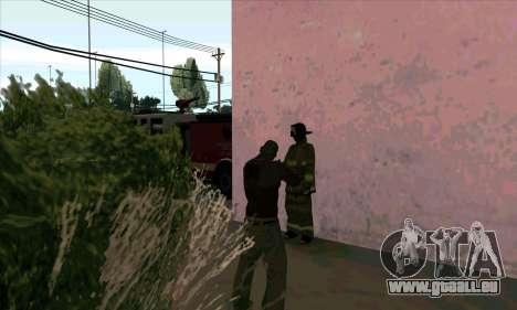 Réaliste de la station de feu à Las Venturas pour GTA San Andreas quatrième écran