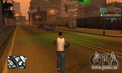 C-HUD New Liberia pour GTA San Andreas