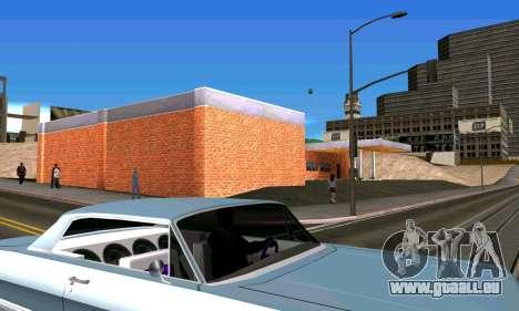 Neue garage in San Fierro für GTA San Andreas fünften Screenshot
